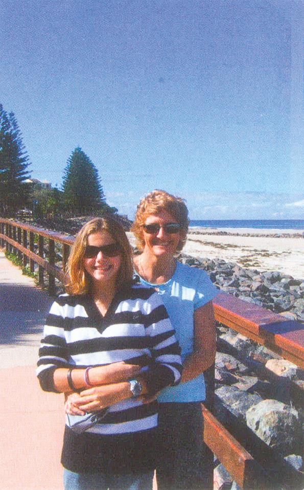Tracey says no matter where she and husband Brian go, they will have their memories.