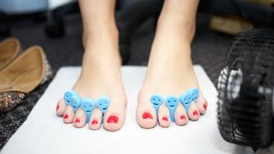Give yourself a luxurious pedicure