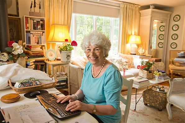 The 75-year-old is still captivating readers with her insights.