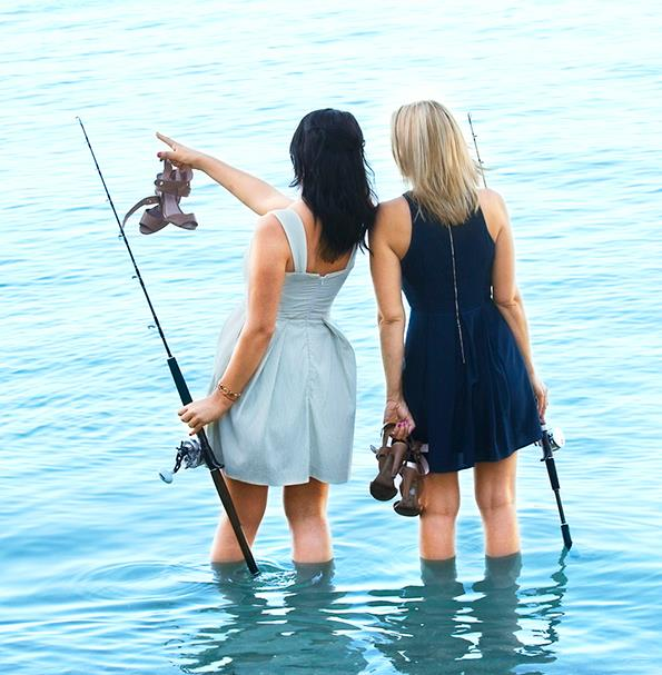 Fishing has brought this Kiwi duo closer than ever.