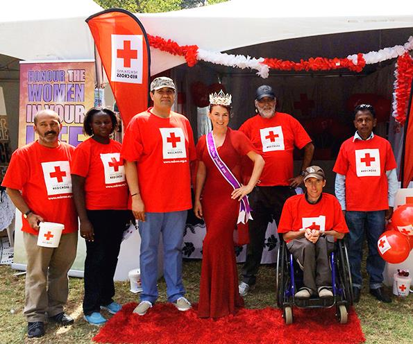 Charity queen: Elena is supporting the Red Cross during her reign.