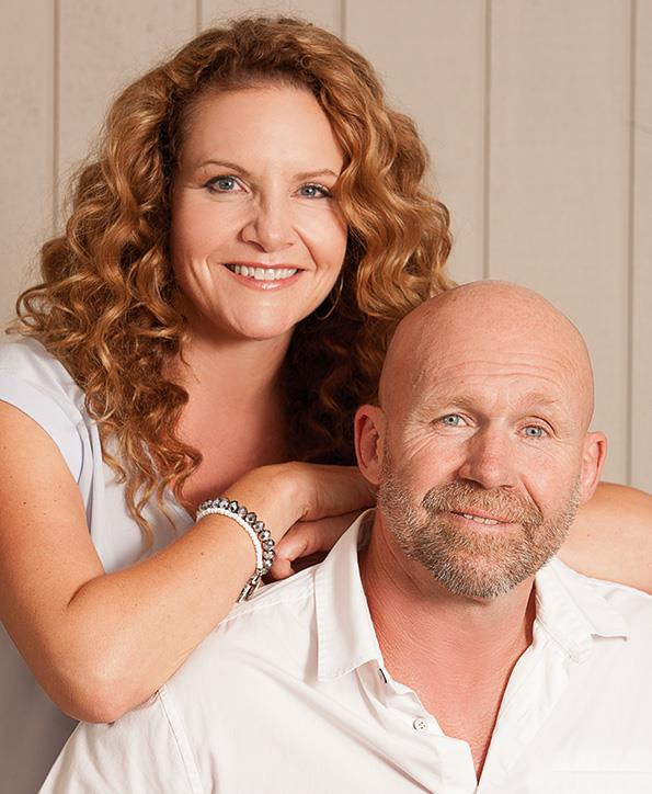 Karen with husband Mark.