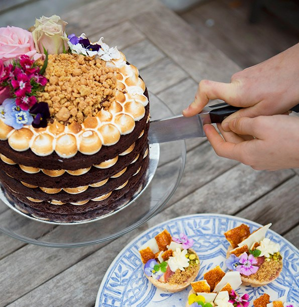 Amelia's impeccable looking cakes, which sell for $70-$75 a pop, have been described as works of art.
