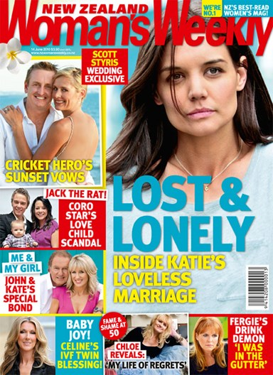 Katie Holmes: Lost and lonely