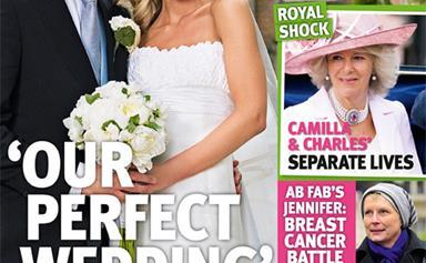 Brendan Cole marries his sweetheart
