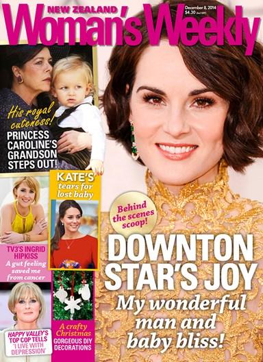 Downton Abbey star's joy