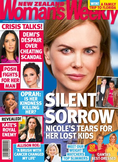 Nicole Kidman's silent sorrow