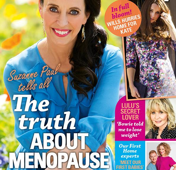 Suzanne Paul tells all about menopause
