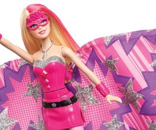 Barbie as superhero Kara
