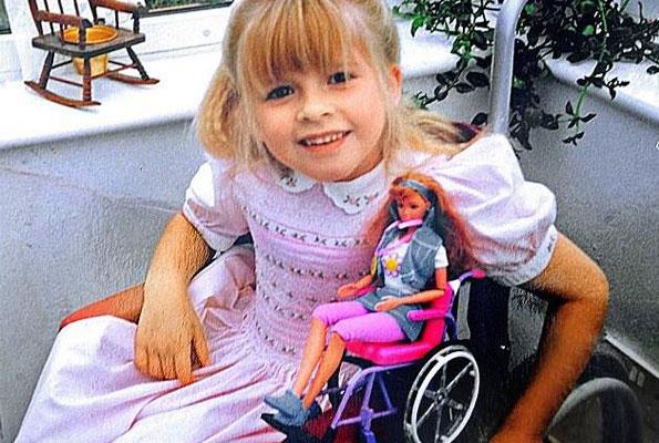 Hannah Cockroft says the wheelchair Barbie she owned as a child changed her life.