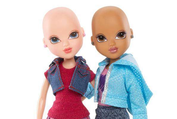 Moxie Girlz True Hope dolls were made to help young girls fighting cancer.