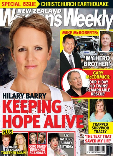 Hillary Barry: Keeping hope alive