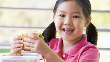 When children start making their own school lunch