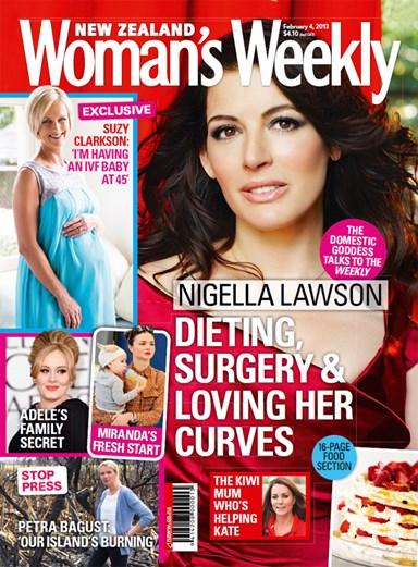 Nigella Lawson: dieting, surgery & loving her curves