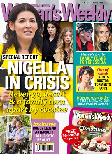 Nigella Lawson in crisis