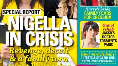 Nigella Lawson in crisis