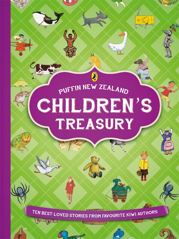 Puffin New Zealand Children's Treasury (Various NZ Authors, $45). From some of New Zealand's most-loved authors and illustrators comes 10 enchanting tales that will delight children over and over again. A must-have for Kiwi kids.