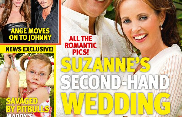 Suzanne Paul's second hand wedding