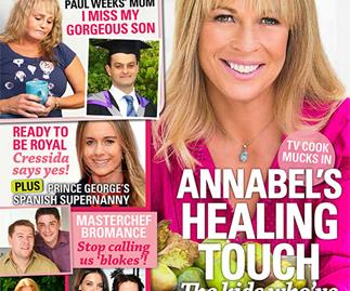 Annabel's healing touch: The kids who've stolen my heart
