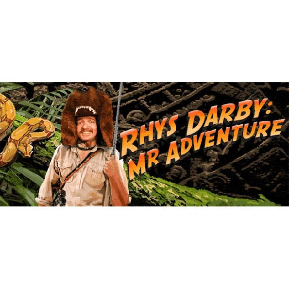 Settle in for a fun filled Saturday night at funny man Rhys Darby's show Rhys Darby: Mr Adventure at the MTG Hawke's Bay in Napier. The show starts at 8pm with tickets from $42.50.