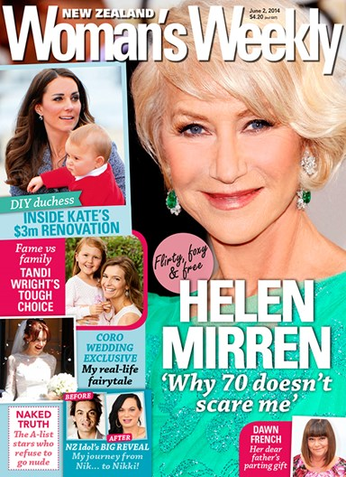 Helen Mirren on turning 70
