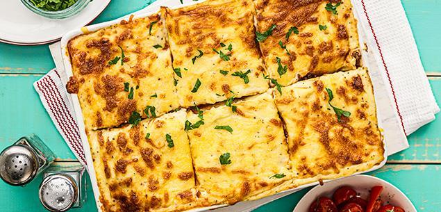 Simple, satisfying lasagne