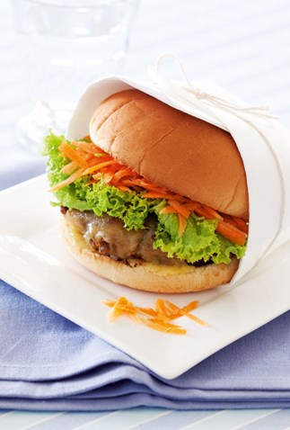 Family favourite burgers
