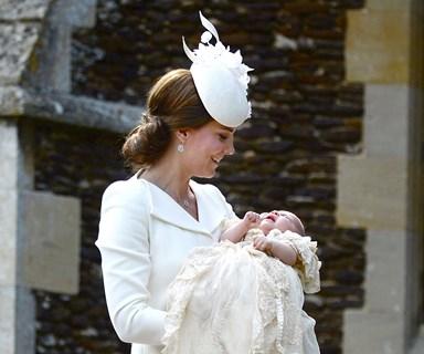 VIDEO: Princess Charlotte's christening