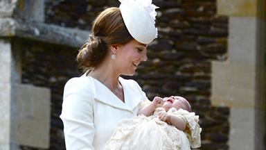 VIDEO: Princess Charlotte's christening