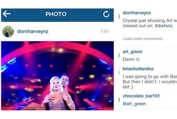 Dom Harvey made this offensive post on social media, which was commented on by The Bachelor Art Green.