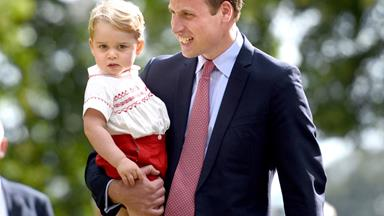 """Prince William: George is """"a little monkey"""""""