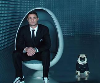 The All Blacks give a stellar performance in the latest safety demonstration video for Air New Zealand.