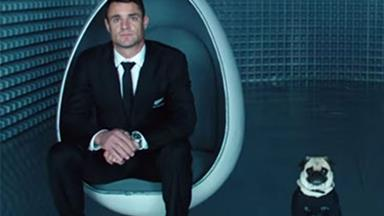 Men in All Black feature in new Air NZ safety video