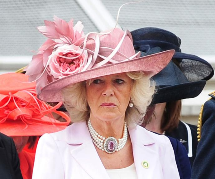 Camilla's pink outfit was criticised five years ago.