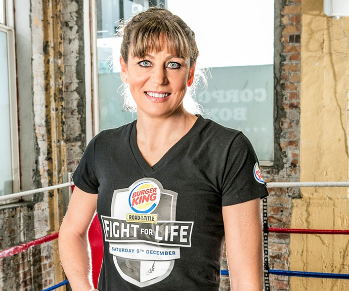 """Her netball career stopped Irene from taking part in Fight for Life, but the former sports star is up for the challenge and looking to channel her """"animal within""""."""