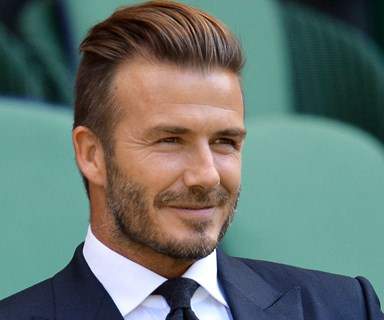 David Beckham tackles the big screen