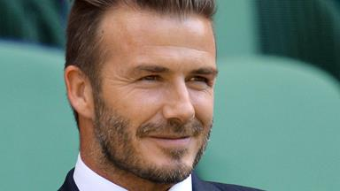 David Beckham tackles the big screen