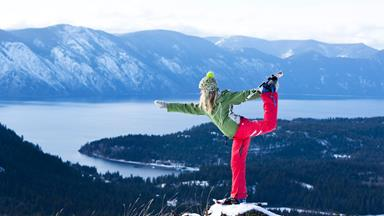 Health update: Snow yoga, bad fats, halo effects