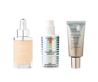 CC cream and multi action serums combine antioxidants and anti-aging benefits while streamlining your beauty regime.