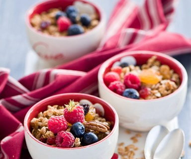 The healthiest choice in muesli