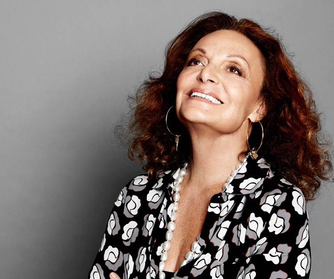 "**Diane Fürstenberg, 68.** Legendary designer Diane von Fürstenberg, who is known for her iconic wrap dress, has shown no signs of slowing down with her advancing years. A dedicated philanthropist and mum-of-two, who is continually evolving her DVF brand, she dotes on grandchildren Talita, 16, Antonia, 14, Tassilo, 13, and two-year-old Leon.   ""In a sense I feel more beautiful than ever,"" she says of her youthful outlook. ""Because my life is full, my children and my grandchildren are my pride, and so is my body of work."""