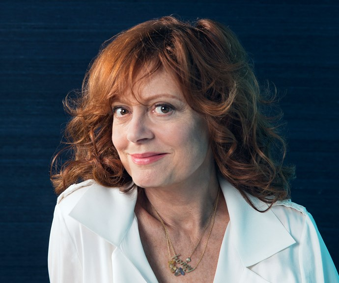 "**Susan Sarandon, 68.** Last year Susan Sarandon became a grandmother for the first time. Her daughter Eva's tot Marlowe is now nine months old, and the *Thelma and Louise* star is loving every minute. ""You're the one who can spoil them – you're the fun part, and then you give them back,"" she says. Much lauded for her eclectic style, Susan says the secret to her look is being ""comfortable, authentic and confident"". ""There's not something you can or cannot [wear] depending on your age,"" she says."