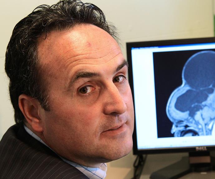 Melbourne neurosurgeon Dr Chris Xenos in 2008.