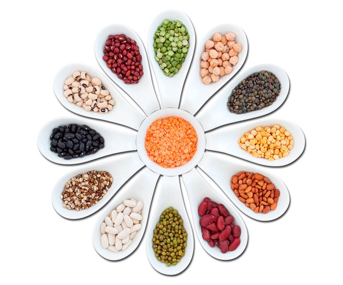Lentils, legumes, beans and pulses