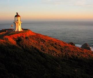 The Cape Reinga lighthouse.