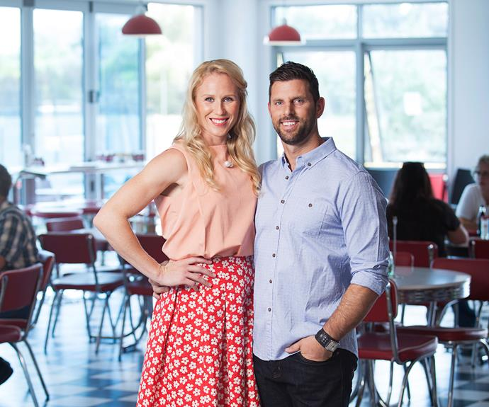 Laura and Adrian, a sports science technician, met in 2009 when he took the netball player through a fitness test.