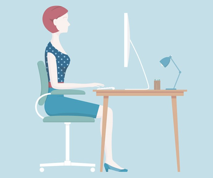 Even if you are desk bound there are still exercises you can do to avoid the dreaded 'office bottom'.