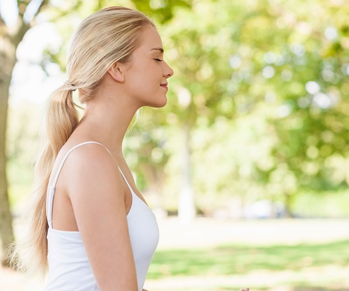 Meditation can help with IBS according to a recent study.