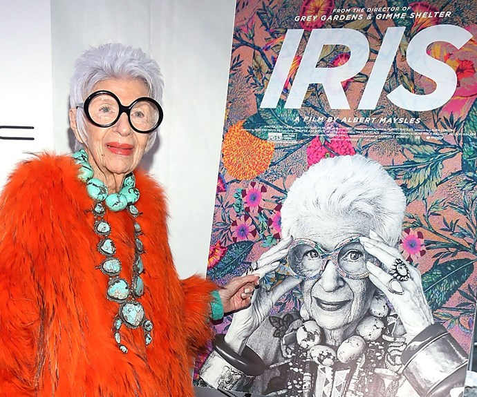 The 94-year-old prefers to set trends rather than follow them – and her life has been celebrated in a documentary.