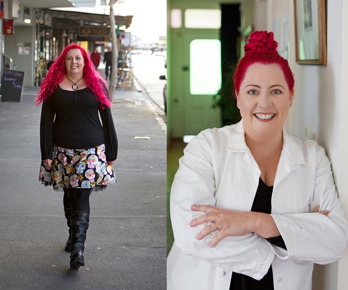 Dr Siouxsie Wiles loves messing with peoples perceptions of what a scientist should look like.